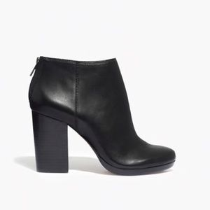 MADEWELL Caleb leather bootie